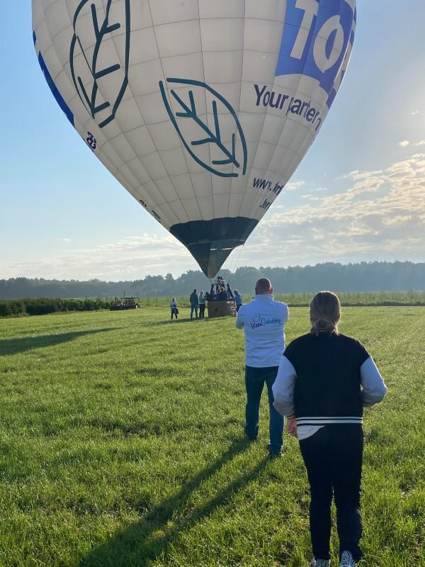 Uitstappen Luchtballon